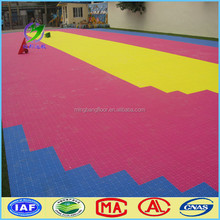 Friendly indoor Children Playground Interlock PP Flooring