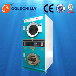 Hot sale 8kg,10kg,12kg competitive price best quality best stackable washer and dryer certificates