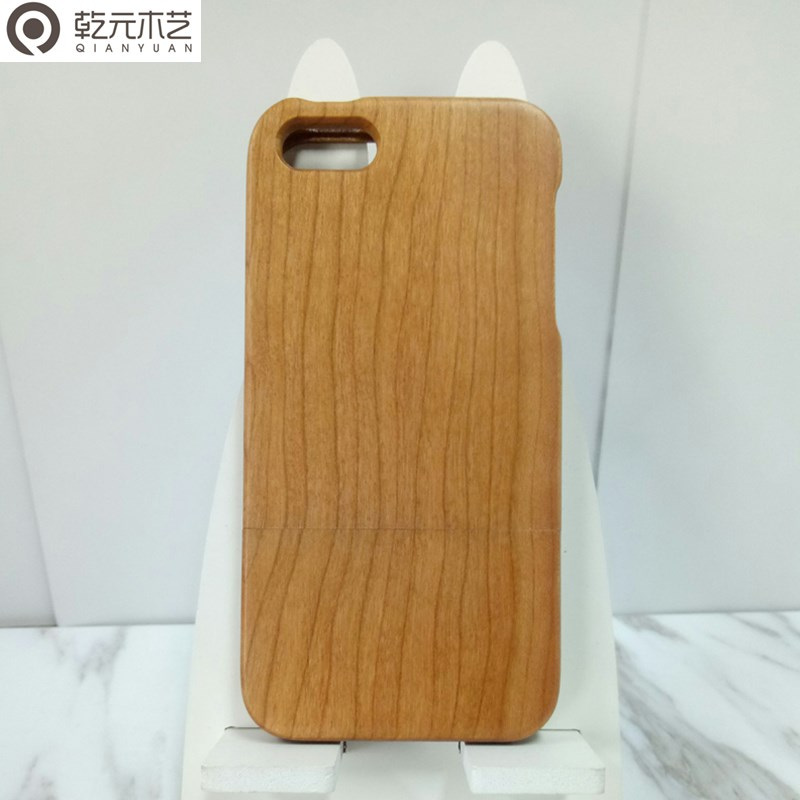 Retro Style Cherry Wood Hard back Phone Cases Skin for iphone
