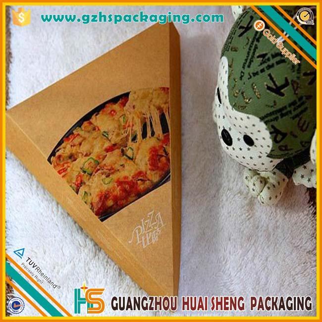 Slice pizza boxtriangle pizza box printingwholesale for Triangle wholesale printing