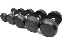 Crossfit dumbell Gym dumbell Round Rubber Dumbbells