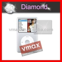 Clear diamond screen protector for Apple ipod classic