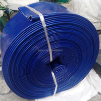 PVC Layflat 6 Inch Flexible Hose farm irrigation flexible hose pipe Manufacturer in China