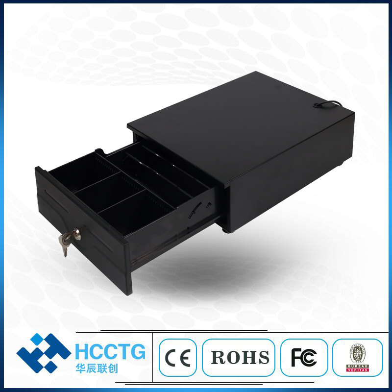 Black RJ11 USB Cash Drawer For Supermarket HS-240