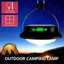 2016 New Arrivel LED Multifunction Solar& Rechargeable Portable Camping Lamp