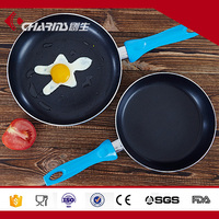 20 / 22 / 24 cm Blue non-stick Aluminum frying pan