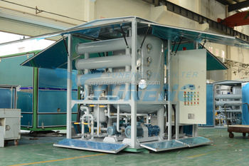 ZJA series mobile type transformer oil cleaning machine