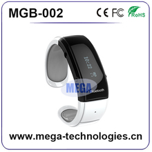 Rechargeable android bluetooth bracelet watch via USB input