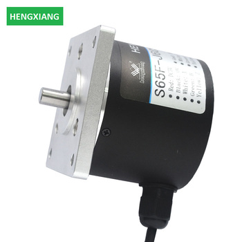 65mm solid shaft encoder packaging incremental synchronous stepping motor encoder