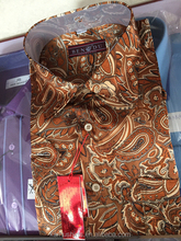 Indonesia Men Batik Shirts Long Sleeve Dress