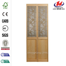 JHK- G15 Italian Design Solid Wood Kitchen Cabinet Interior Folding Door