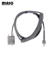 Compatible RS232 3M coiled cable for Symbol LS2208 LS4208 DS6708 Barcode Scanner Pda