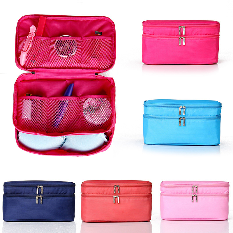 multi-functional waterproof underwear storage bag customized big capacity toiletry makeup bag for <strong>travel</strong>