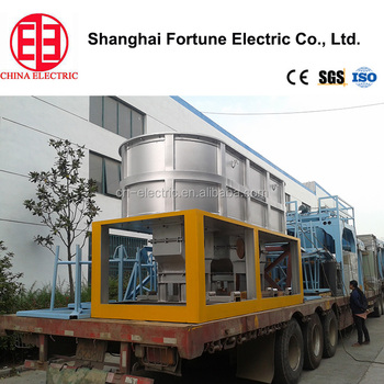 Full automatic electric Line-frequency cored Induction furnace / copper cored induction furnace