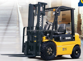 Professional manufacture of CPCD60 Diesel Powered forklift 6 ton made in china