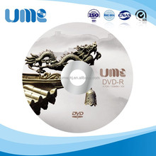 Local characteristics UME printable disc DVD-R 4.7GB 16X 120mm