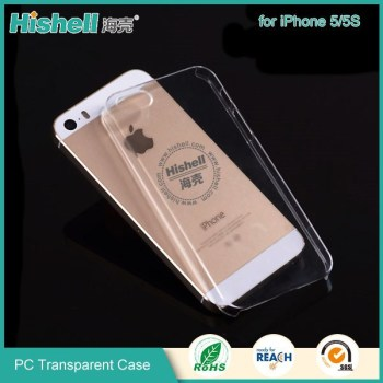 New type Ultra thin PC cover hard PC transparent case for apple iphone