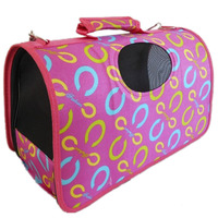 Colorful dog cage ,h0tw2 products pet carrier , folding fabric dog crate