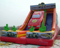 Inflatable Car Bouncy Slide for Boys