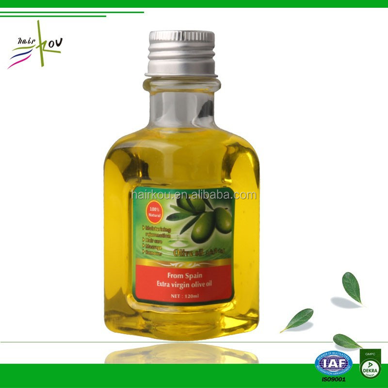 factory price cold pressed olive oil hair products from greece