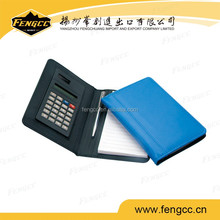 Hot Sale pocket notebook calculator with pen