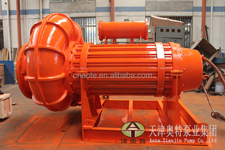Helico-centrifugal sewage pump for high density medium