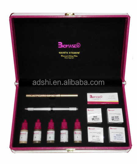 Professional Eyebrow Microblading Tattoo Ink Pigment Set