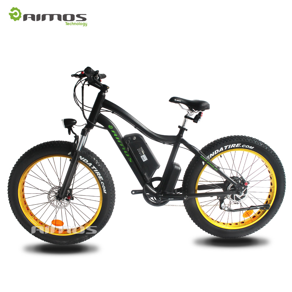 AMS 26inch off road 4.0 fat electric moped Aimos best selling cheap electric bike
