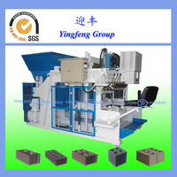 Mobile block making machine, QMY12-15 german techlology machines to make block cement