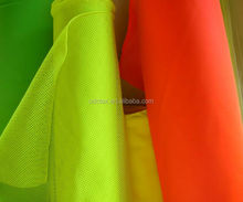 Polyester cotton High visibility Fluorescent Fabric