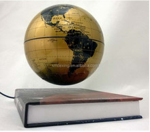 magnetic levitating 4-inch/6-inch books Globe/magnetic suspended globe/magnetic rotating globe