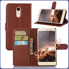 Mobile Phone Card Holder Wallet Flip Leather Case For Xiaomi Redmi Note 3 32gb Prime