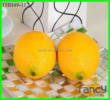cheap wholesale artificial fake decorative plastic lemons fruit