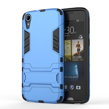 Wholesale Shockproof Armor Protector TPU+PC 2in1 Stand Cover Hybrid Case for HTC-828