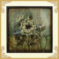 2015 Antique large wall pictures of flowers