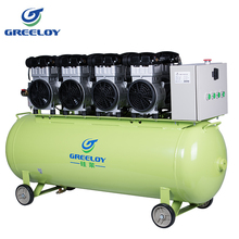 6hp 25cfm oilless air compressor for Paper Industry use