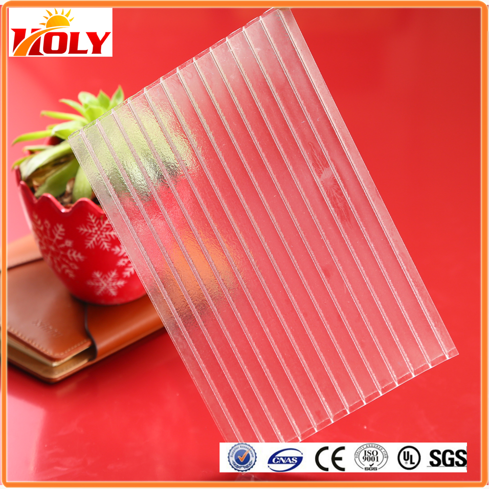 3mm 4mm high light transmission polycarbonate sheet solar greenhouse