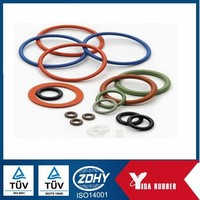 food grade silicone rubber o rings and green rubber o ring seal