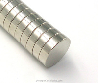 D8X3mm Round Shape Silver/Ni/Zn/Gold Coating High Quality Rare Earth N50 magnets Neodymium