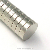 D8X3mm Round Shape Silver Ni Zn