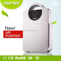 Holmes HEPA Type Desktop Air Purifier, 3 Speeds plus Optional Ionizer, HAP242-NUC UV Air Purifier