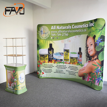 Trade Show Or Advertising Display Portable Stands With Curtain