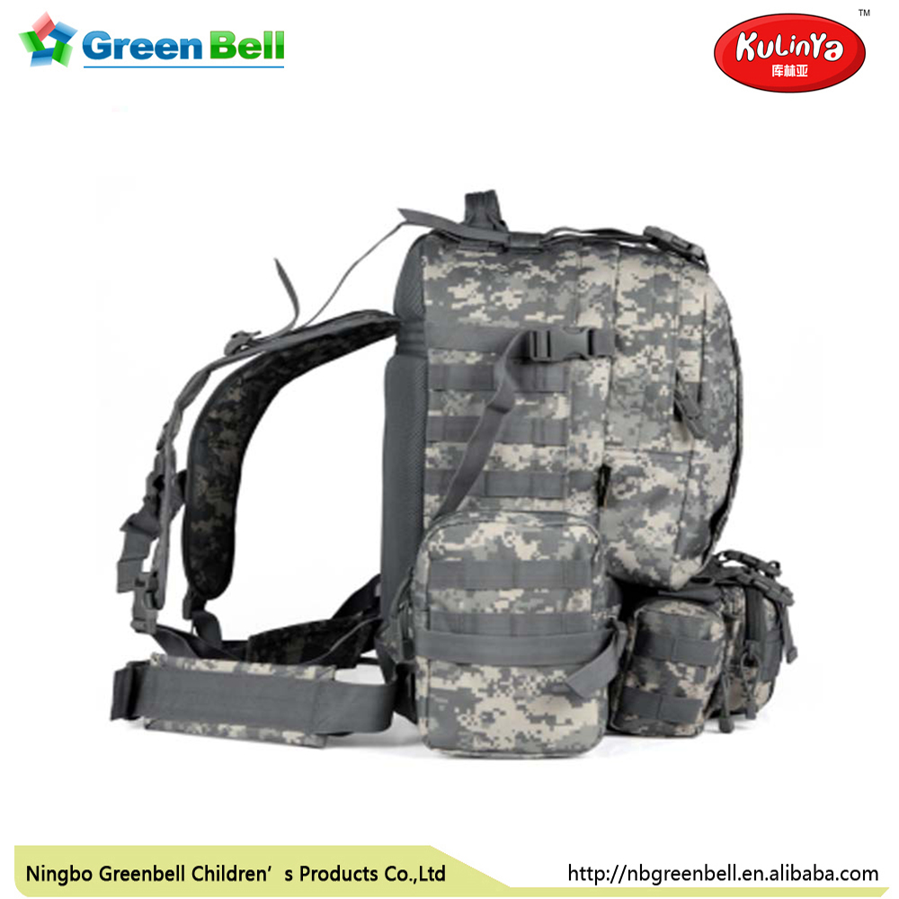 Military Quality actical outdoor hunting Hiking bag with 1000D Nylon cordura fabric