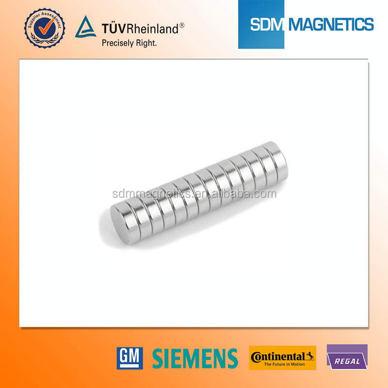 High Quality Super strong Paper Thin Magnets with ISO/TS16949