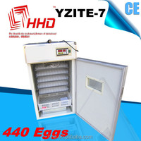 Hot sale new agricultural machines names and uses CE approved HHD full automatic poultry egg incubator YZITE-7