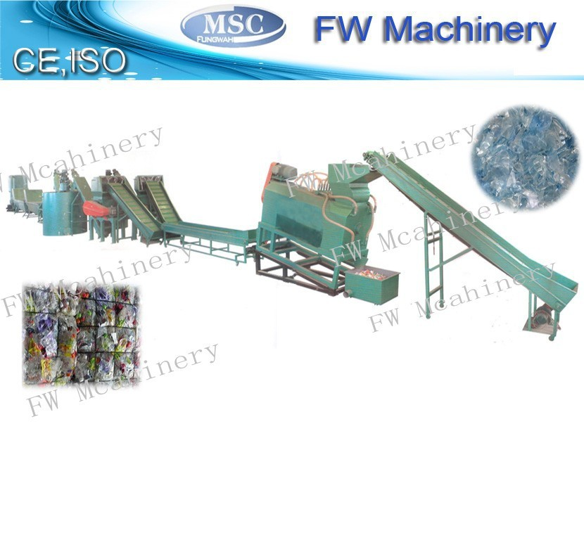 bottle recycling machine pet bottle scrap washing line
