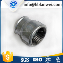 Equal Shape and Iron Material gi pipe fittings socket