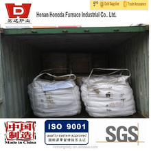 refractory covering flux powder