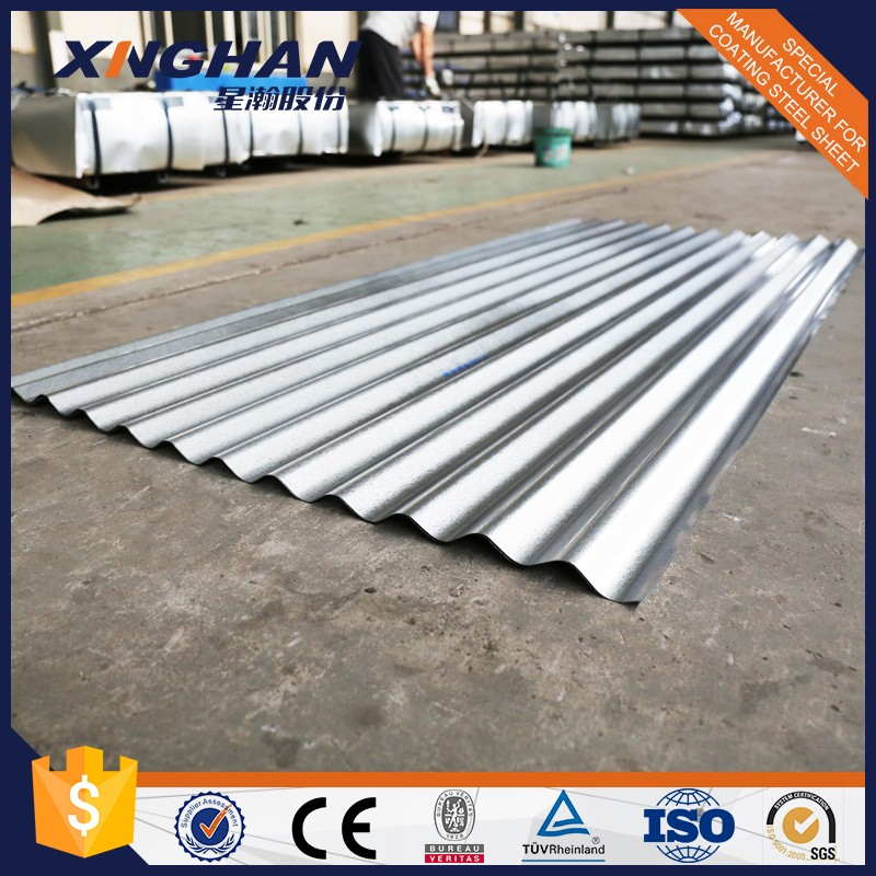 Hot Dip Zinc Coated Steel Strip Corrugated galvanized zinc roof sheets/cheap roofing materials/corrugated zinc