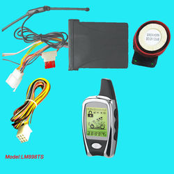 Two Way Motorcycle Alarm With LED Status Indicator And 1 LCD Remote Transmitters